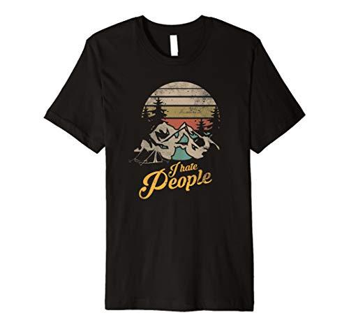 I Hate People TShirt Geschenk Ich Hasse Menschen Shirt