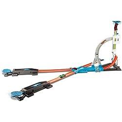 MATTEL Hot Wheels dlf28–Track Builder Stunt Kit, parte Tren , Modelos/colores Surtidos, 1 Unidad