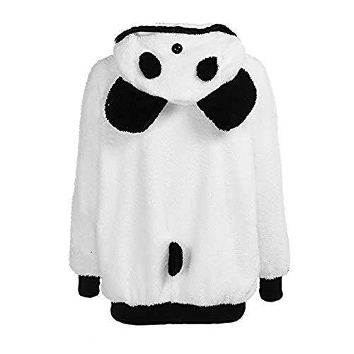 OSYARD Sweats à Capuche pour Femmes Sweatshirts Imprimés Panda Oreille Ours Manteau d'hiver à Capuche Chaude Blouse