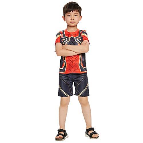 WSJYP Halloween Kinderkleidung Spider Hero/Man Kleidung Boy Cosplay Avengers Tights Adult (Spider Mann Paare Kostüm)