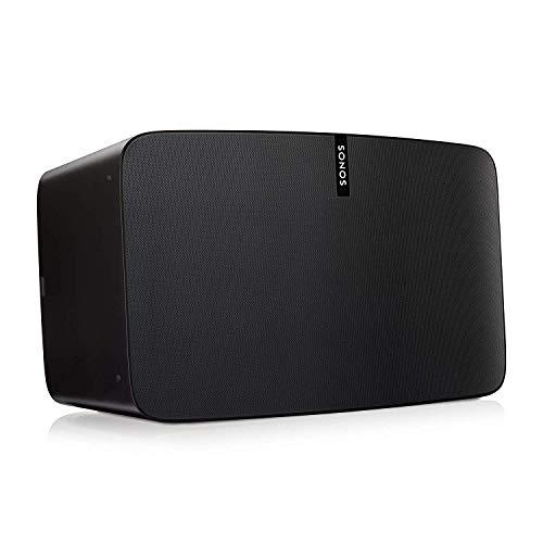 Sonos Play:5 WLAN Speaker (Kraftvoller WLAN Lautsprecher mit bestem, kristallklarem Stereo Sound - AirPlay kompatibler Multiroom Lautsprecher) schwarz