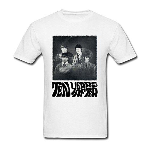 UKC5BD -  T-shirt - Uomo bianco X-Large