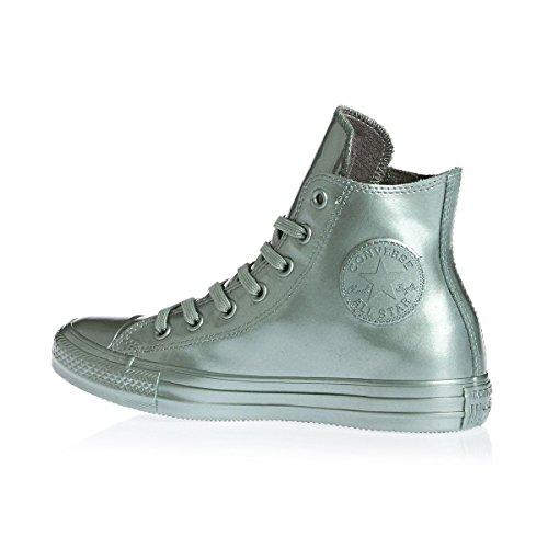 Converse AS Hi Can charcoal 1J793 Unisex-Erwachsene Sneaker Silber
