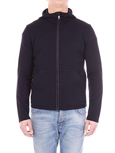 Prada Herren Smc586u98navy Blau Polyamid Sweatshirt