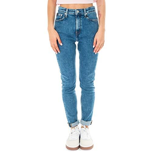 Calvin Klein Jeans Donna High Rise Slim J20J211030 911 31 911 Mid Blue