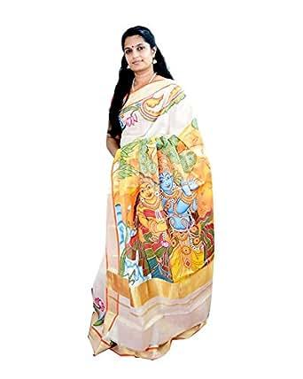 Varnam Cotton Saree (Veda1005_Multi)