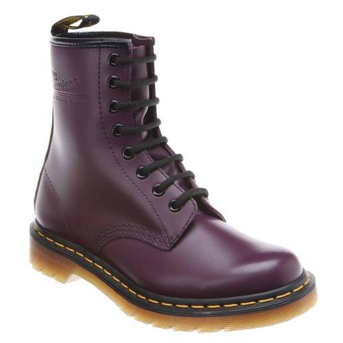 Dr. Martens 1460, Bottes Classiques Mixte Adulte Noir(Violet Purple Smooth)