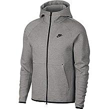 acd8e25ab4e Nike M NSW TCH FLC Hoodie Fz Sweat-Shirt Homme