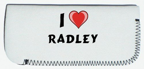 Glasses Case with I Love Radley (first name/surname/nickname)
