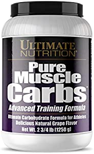 Ultimate Nutrition Pure Muscle Carbs Grape 1.25kg