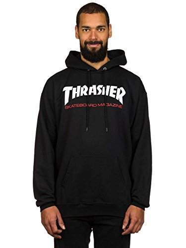 Herren Kapuzenpullover Thrasher Two Tone Skate Mag Hoodie Black
