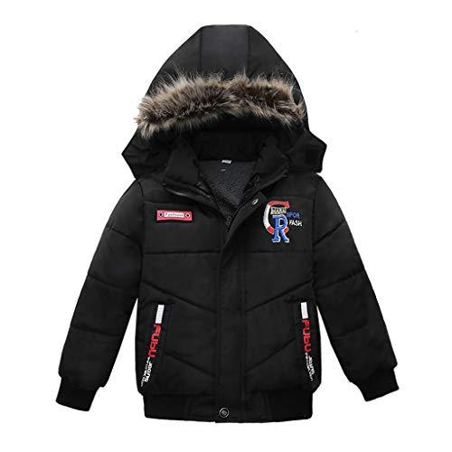 LijunMimo Winter Jungs Kinder Kinder Baumwolle Kleidung Warm Verdicken Mit Kapuze Baumwolle Jacke Mäntel Gut aussehend Süß Kinder Kleider -