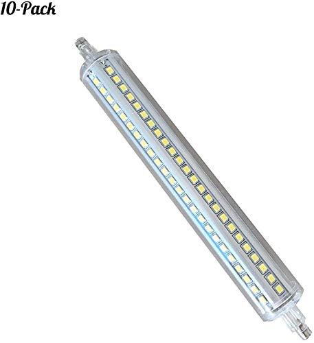JYGZD Bulbs@ LED R7S 189mm Lampe 15W,J189 Lineare Leuchtmittel 6000K, 15 Watt, entspricht 120W Halogenlampe, 85-265V AC, 1500LM, 360 Grad, 10er Pack [Energieklasse A++]