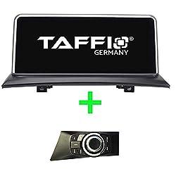 TAFFIO® Android 9.0 HD Anti Glare Touchscreen GPS Navigation SD USB Multimedia Media Player für BMW 1 E81 E82 E87 E88 ohne Original * 8-Core Prozessor 4GB RAM + 32GB ROM* + i-Drive