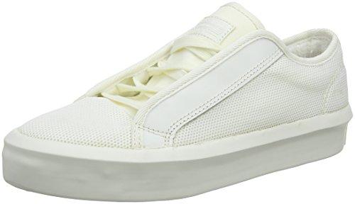 G-STAR RAW Damen Strett Lace Up Sneaker, Weiß (Blanc), gebraucht kaufen  Wird an jeden Ort in Deutschland