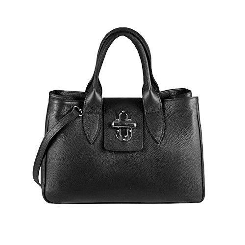 403f43c32534c OBC ital Damen Tasche Leder Prägung Shopper Schultertasche Umhängetasche  Beuteltasche Handtasche Tablet Ipad 10 Zoll
