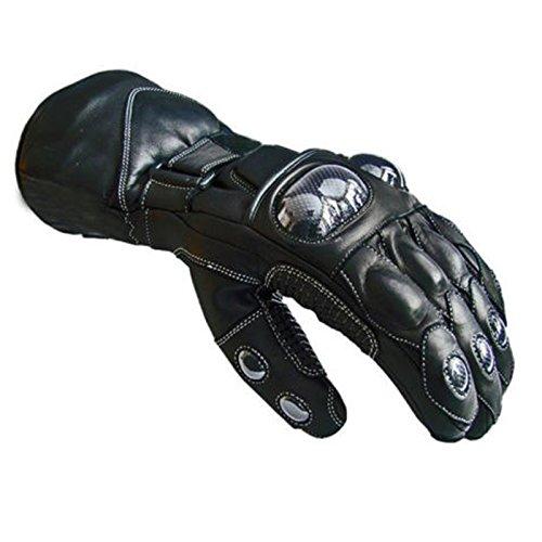 UrbanBoutique Winter Sommer Textilleder Motorrad Wasserdichte Handschuhe Kollektion, L