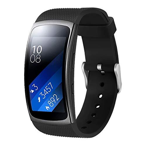 BZLine Armband Für Samsung Gear Fit 2/2 Pro Smartwatch   Mode Sport Weichen Silikon Ersatz Armband Uhrenarmband   Größe: 5,51