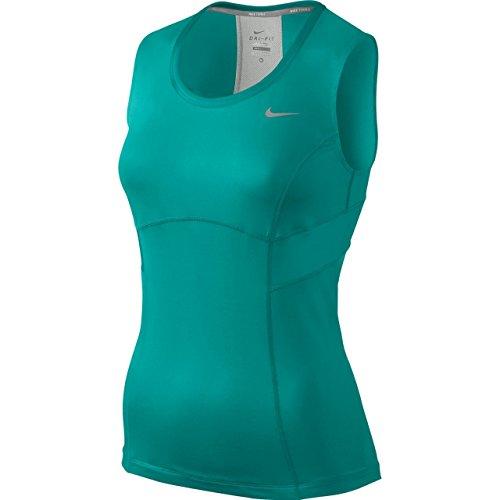 Nike Tennis Flirty Débardeur tricoté pour femme - turbo green/turbo green/matte silver