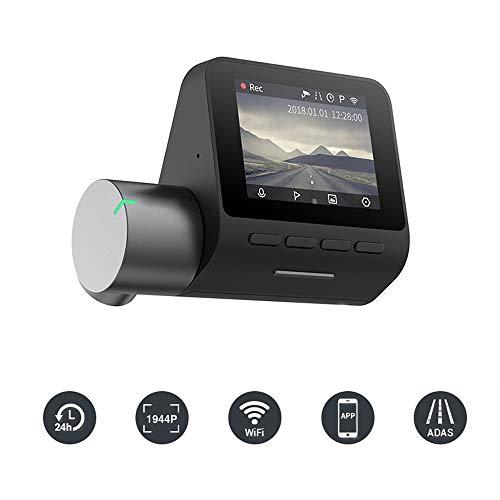 Driving Recorder, 1944P Auto Kamera DVR mit GPS und Nachtsicht und Bewegungserkennung für Autos, Sprachsteuerung, Notaufnahme, APP WiFi Control Dash Kamera, G-Sensor, WDR, Parkmonitor Wlan-dash-steuerung