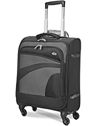 Aerolite 55x40x20 Ryanair Maximum Allowance 38L Lightweight Travel Carry Suitcase with 4 Wheels - Also Approved for easyJet, British Airways, Jet2 and More