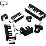 16GB Piano Model USB Flash Drives USB 3.0 Stick USB Drive Pen Drive Thumb Drive U Disk USB 3.0 Flash Disk USB Disk Memory Stick USB Flash Memory USB Stick USB 3.0 Flash Drive - Black