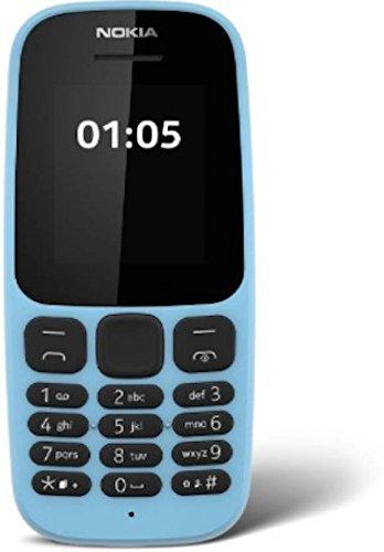 Nokia 105 (Dual SIM, Blue) image