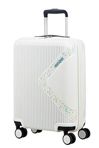 American Tourister Modern Dream Spinner Bagaglio a Mano 55 Cm, 35 L, Bianco (Stardust)