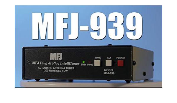 Mfj 939y Automatisches Stimmgerät Plug And Play 200 Watt Hf W Mit Yaesu Kabel Ft 950450847