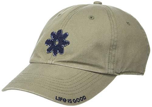 Preisvergleich Produktbild Life Is Good Unisex Tattered Chill Denim Daisy Ftggrn,  Fatigue Green,  One Size