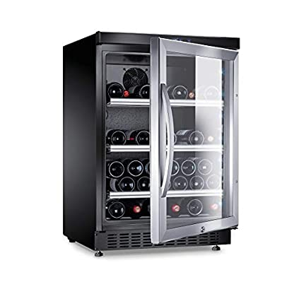 DOMETIC-9600001934-Weinkhlschranka863-cm52-Flaschen-KhlteilIdeal-fr-die-kurzzeitige-Lagerung-von-Tafelweinen-geeignetlautloser-Betrieb