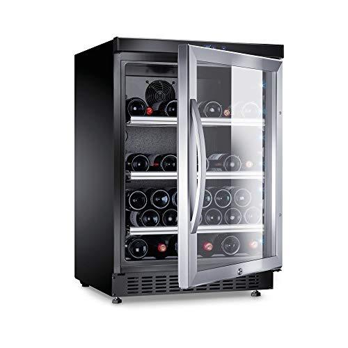 Preisvergleich Produktbild DOMETIC 9600001934 Weinkühlschrank / a / 86.3 cm / 52 Flaschen Kühlteil / Ideal für die kurzzeitige Lagerung von Tafelweinen geeignet / lautloser Betrieb