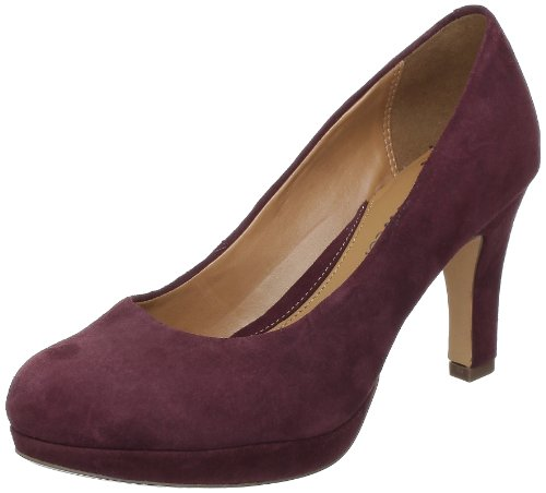 Clarks Anika Kendra 203544714 Damen Pumps Braun (Marron (Chocolate Suede))