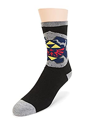 The Legend of Zelda Triforce Reversible Crew Chaussettes