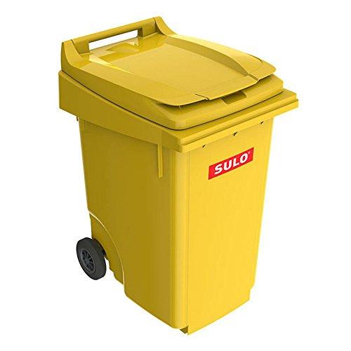 *SULO 2 Rad Müllbehälter MGB 360, Inhalt 360 l – Gelb*