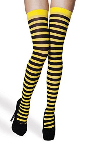 Boland 02250 Strümpfe Honigbiene, Damen, One Size