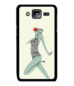 Fuson 2D Printed Girly Designer back case cover for Samsung Galaxy J2 - D4546
