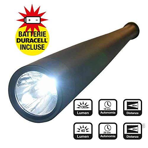 CFG Defender Hand flashlight LED Black - Flashlights (Hand flashlight, Black, Aluminium, Buttons, IPX4, 1 lamp(s))