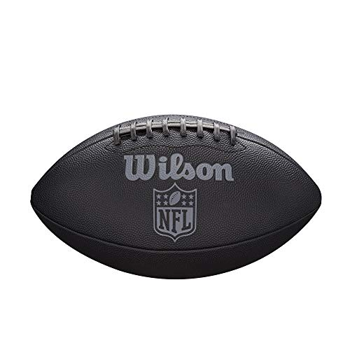 WILSON NFL Jet Black Official Size Football