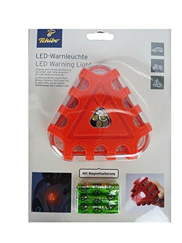 Preisvergleich Produktbild TCM Tchibo LED Warnleuchte mit Magnethalterung Absicherung v. Unfallstelle