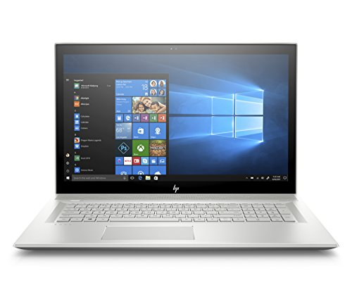 HP Envy 17-bw0011nl, Notebook pc, i7-8550U, RAM 8 GB, SSD 512 GB, 17.3 FHD IPS, Argento naturale