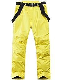 Pantalones de Nieve - Pantalones a Prueba de Nieve,Ideales para Vacaciones de esquí