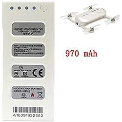 Lanspo ZeroTech DOBBY7.6v 970mah Batteries Intelligentes de Remplacement de Batteries de Fente Zero Technology Pochettes de Dédié à Dobby Pocket Drones (Batterie)
