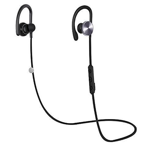 Oreillette Bluetooth 4.1 écouteurs Bluetooth Sport Stéréo Coulax CX06 Casque