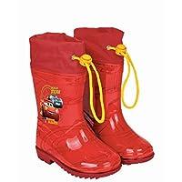 PERLETTI Cars rain boots red size 22-23