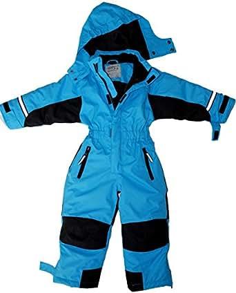 Maylynn - Softshell Skianzug Schneeanzug Blau: Amazon.de