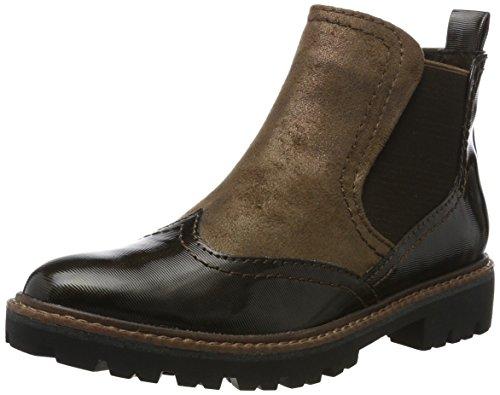 Marrone Tozzi Donne Strpc moka Boots 25412 Chelsea Marco q1dx7wXz1