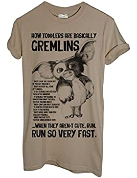 T-Shirt HOW TODDLERS ARE BASICALLY GREMLINS - GIZMO - FILM by MUSH Dress Your Style