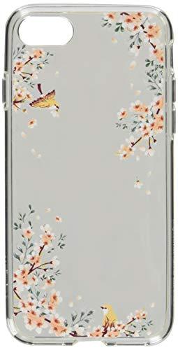 Spigen iPhone 8 Hülle, iPhone 7 Hülle [Liquid Crystal] Soft Flex Silikon Handyhülle Blossom Sakura Design Transparent Blumen Motiv Schutzhülle für Apple iPhone 7/8 Case Cover - Blossom Nature