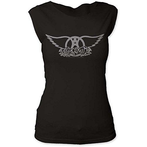 Aerosmith -  T-shirt - Uomo Noir - Noir vintage Large